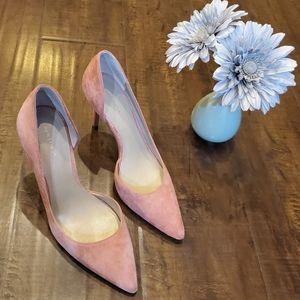 Ann Taylor Felipa Pink Heels Size 7